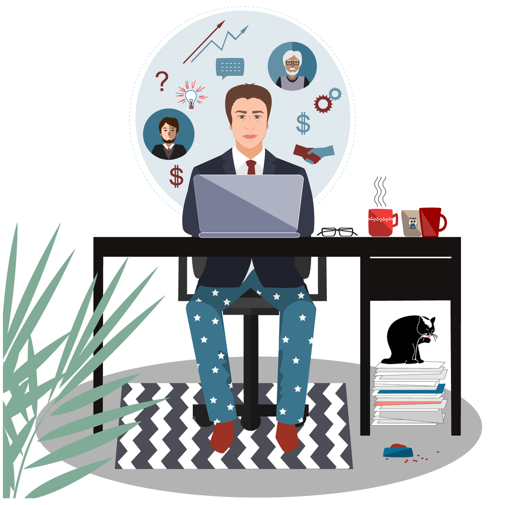 Dyslexia at work: Strategies for working from home