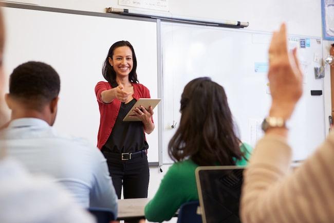 Teaching literacy skills to adults