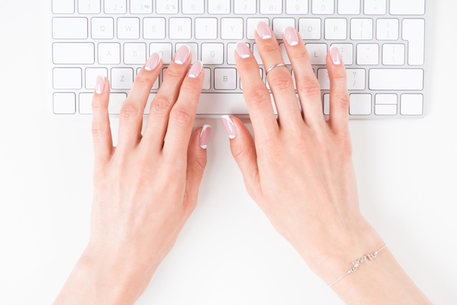 Touch typing benefits