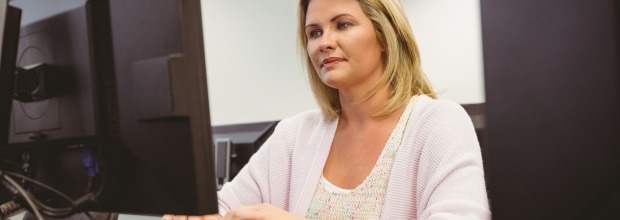 Adult education courses that make use of TTRS to teach keyboarding