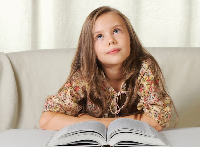 Reading can help a child who is struggling with writing