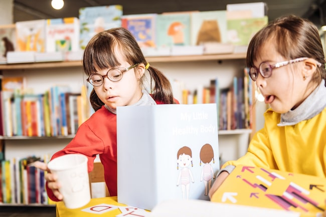 How strong reading skills can benefit a child with Down syndrome