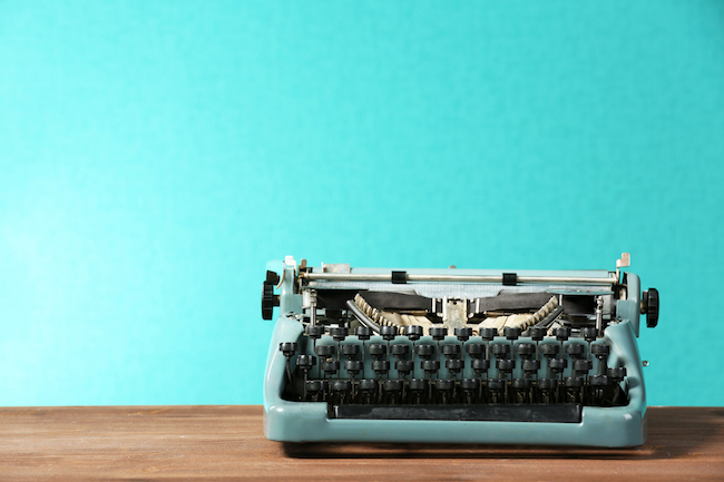Typing jobs used to be done on typewriters