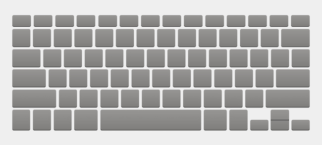 Check your keyboard