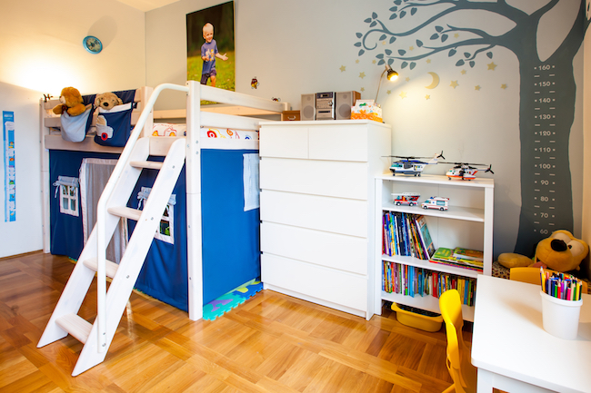 Ensure a child has plenty of books in his or her environment