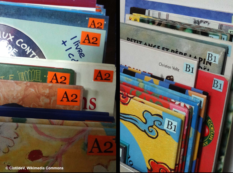 Ask students to look for a particular sight word in several children's books
