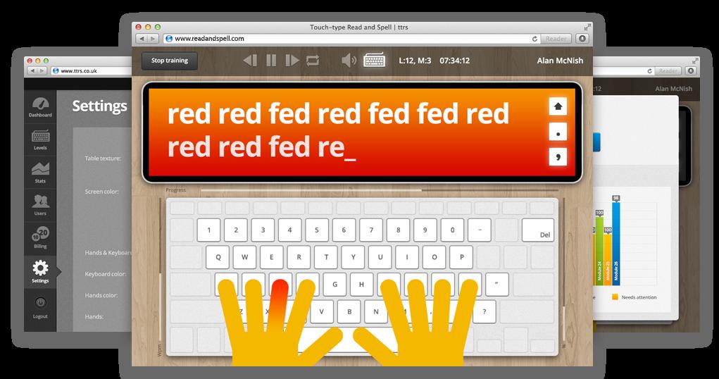 Touch-type Read and Spell (TTRS) | readandspell.com